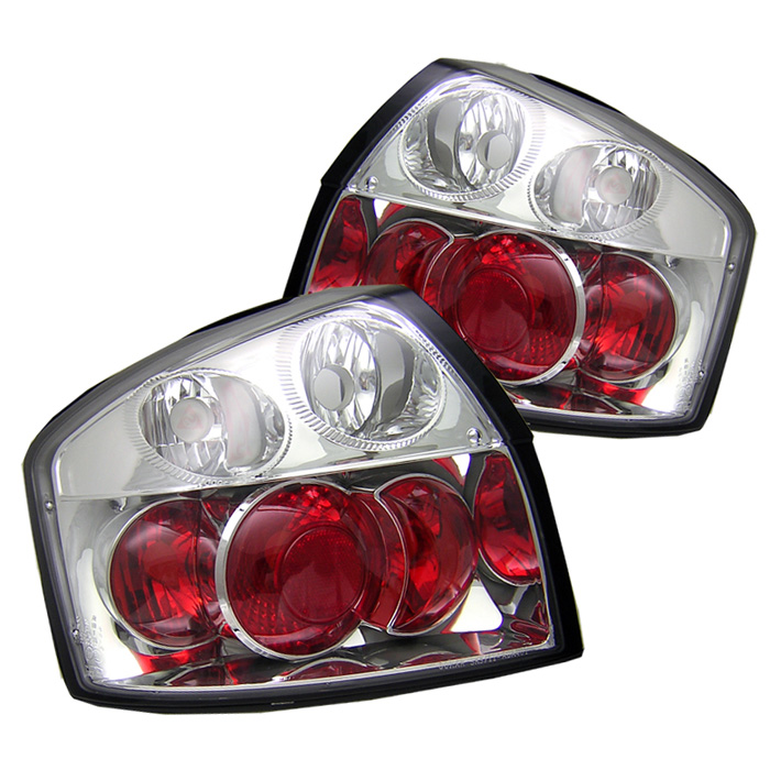 Audi A4 02-05 Euro Style Tail Lights - Chrome