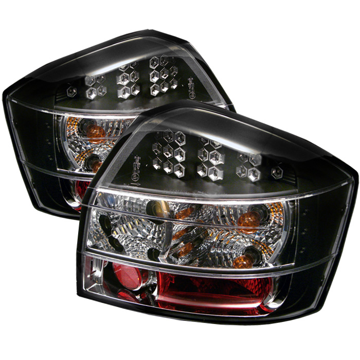 Audi A4 02-05 LED Tail Lights - Black