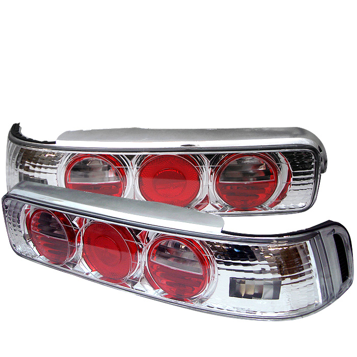 Acura Integra 90-93 2Dr Euro Style Tail Lights - Chrome