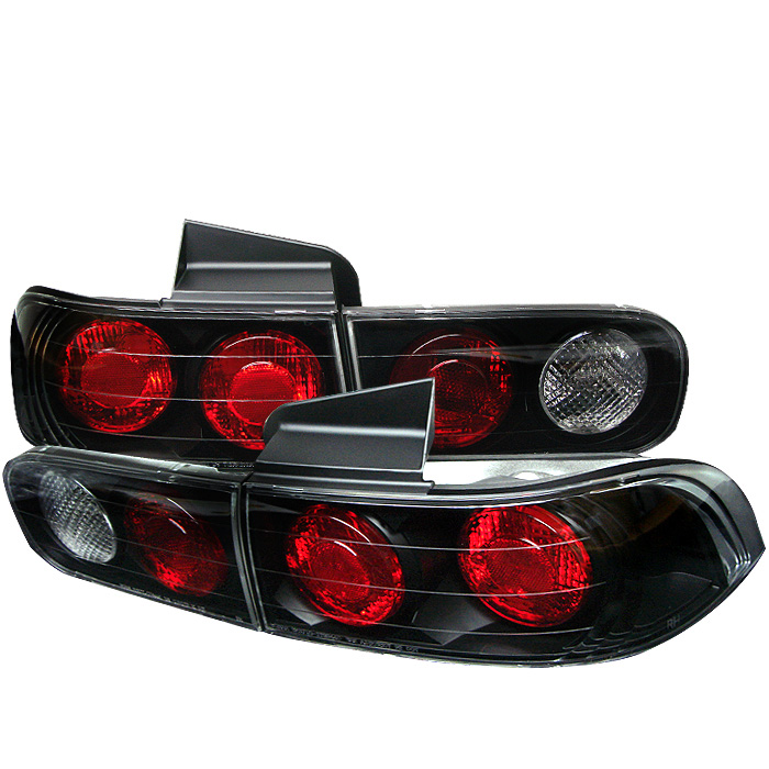 Acura Integra 94-01 4Dr Euro Style Tail Lights - Black