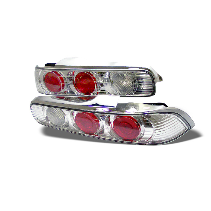 Acura Integra 94-01 2Dr Euro Style Tail Lights - Chrome
