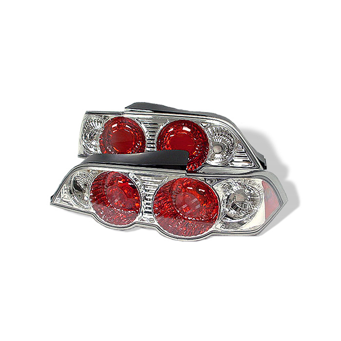 Acura RSX 02-04 Euro Style Tail Lights - Chrome