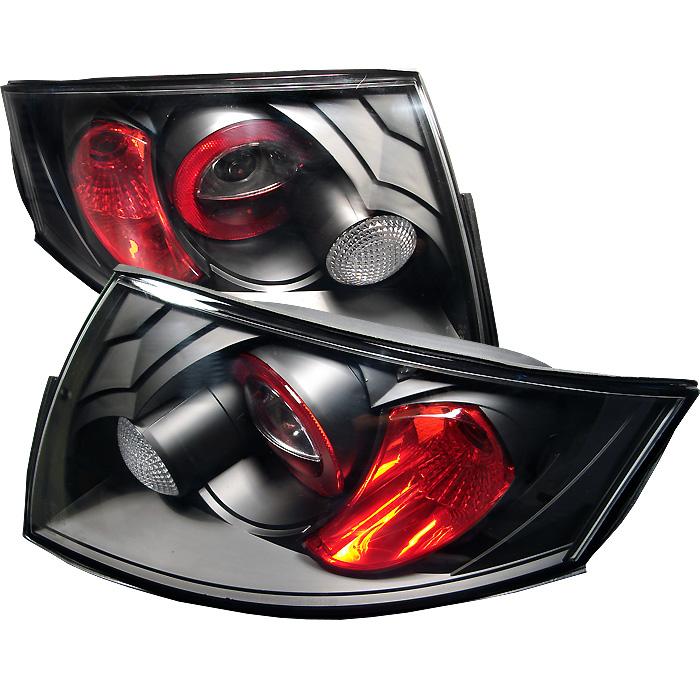 Audi TT 00-06 Euro Style Tail Lights - Black
