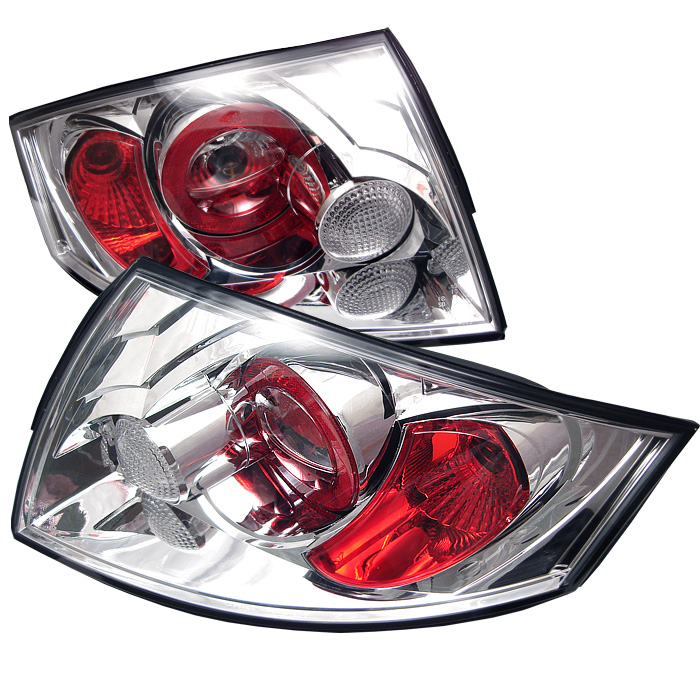 Audi TT 00-06 Euro Style Tail Lights - Chrome
