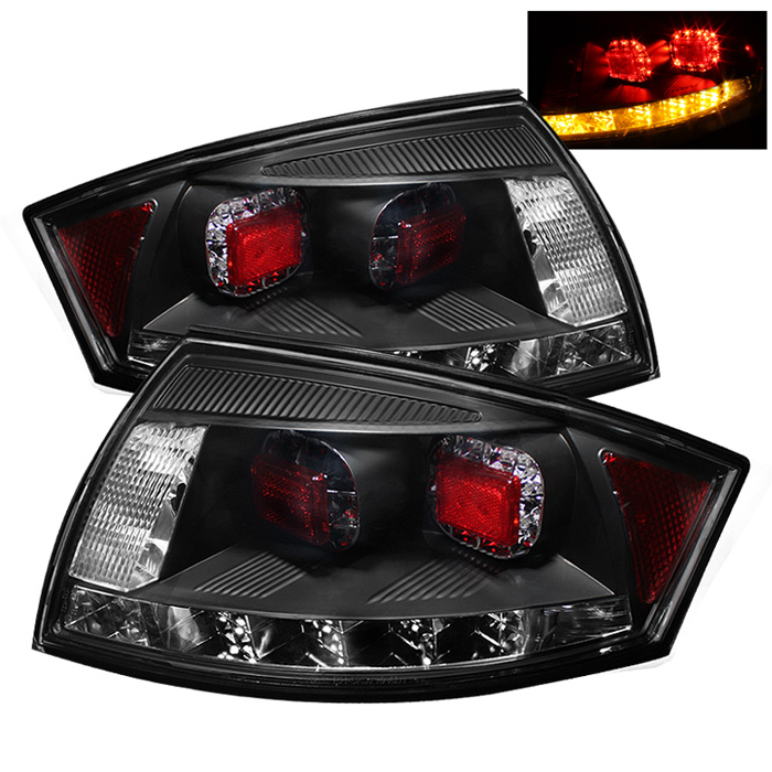 Audi TT 00-06 LED Tail Lights - Black