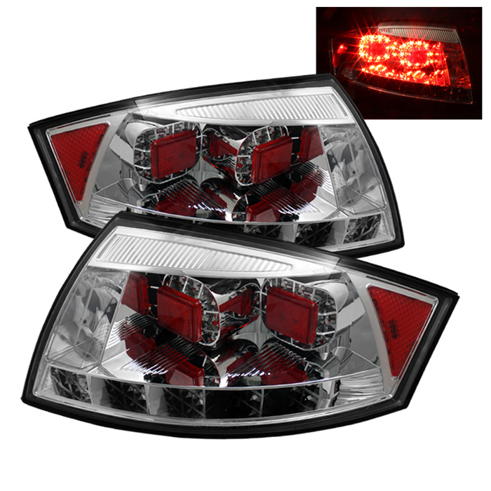 Audi TT 00-06 LED Tail Lights - Chrome