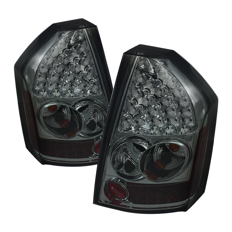 Chrysler 300C 08-10 LED Tail Lights - Smoke