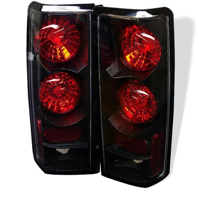 Chevy Astro / Safari 85-05 Euro Style Tail Lights - Black