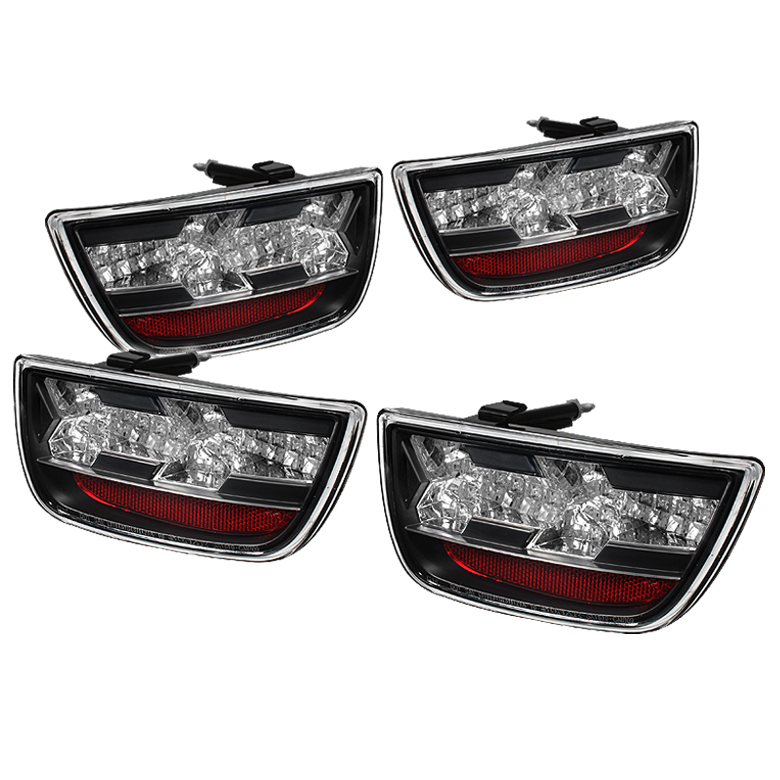 Chevy Camaro 10-12 LED Tail Lights - Black