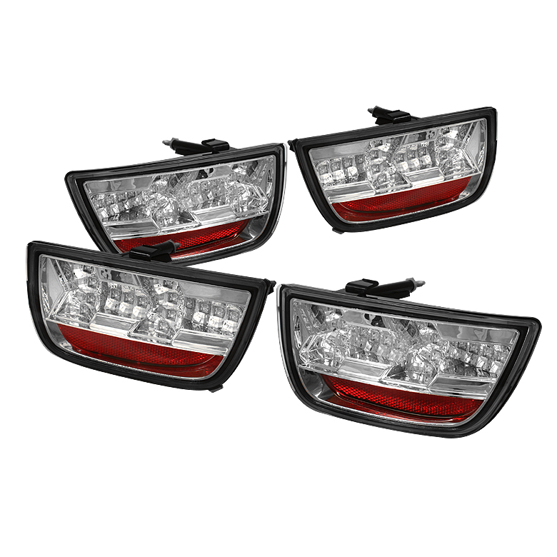Chevy Camaro 10-12 LED Tail Lights - Chrome