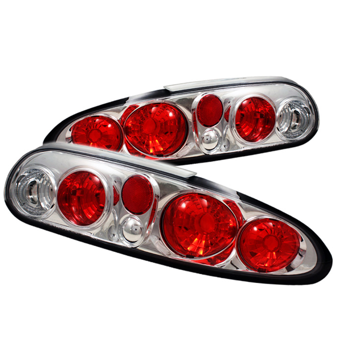 Chevy Camaro 93-02 Euro Style Tail Lights - Chrome