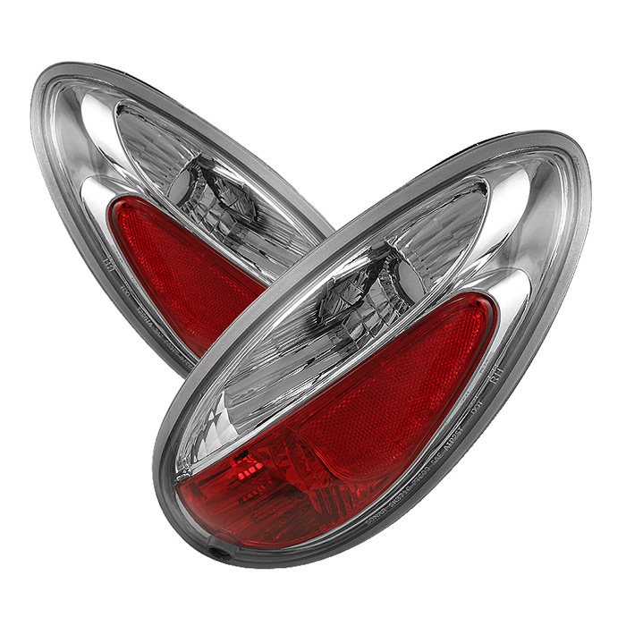 Chrysler PT Cruiser 01-05 Euro Style Tail Lights - Chrome