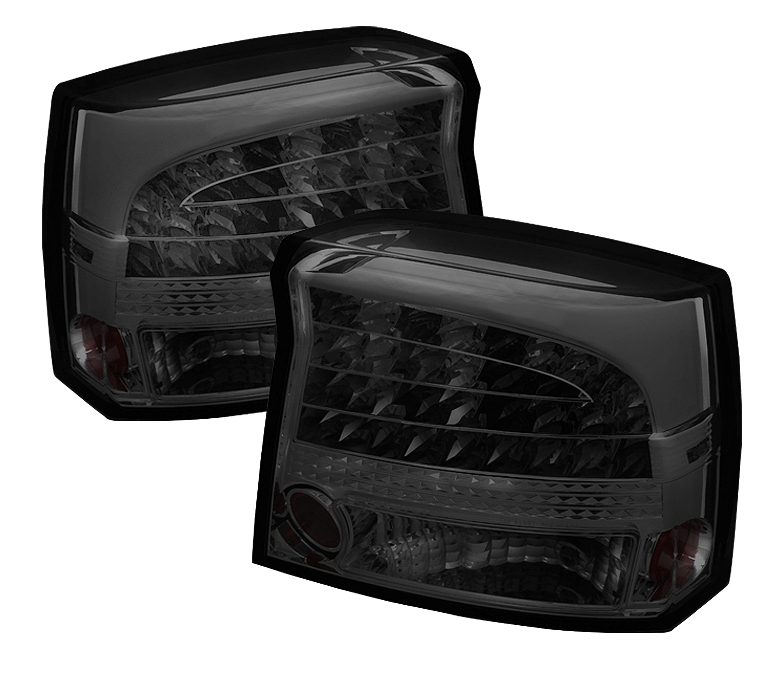 Dodge Charger 09-10 LED Tail Lights - Smoke