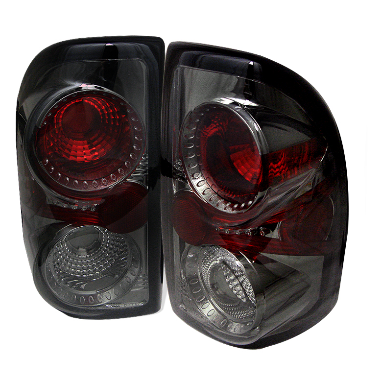 Dodge Dakota 97-04 Euro Style Tail Lights - Smoke