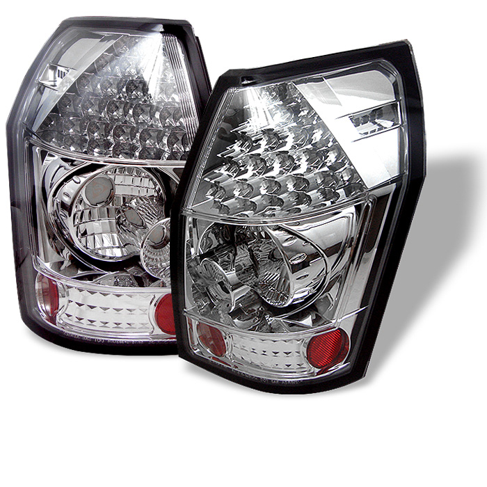 Dodge Magnum 05-08 LED Tail Lights - Chrome