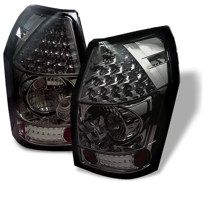 Dodge Magnum 05-08 LED Tail Lights - Smoke