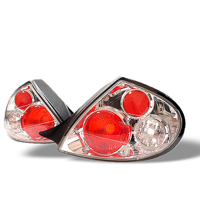 Dodge Neon 00-02 Euro Style Tail Lights - Chrome