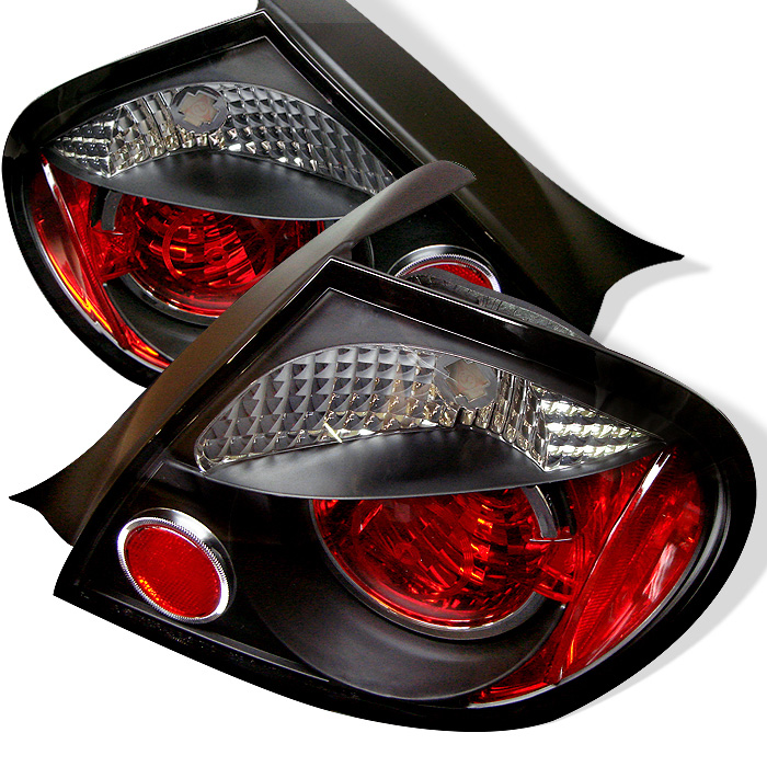 Dodge Neon 03-05 Euro Style Tail Lights - Black