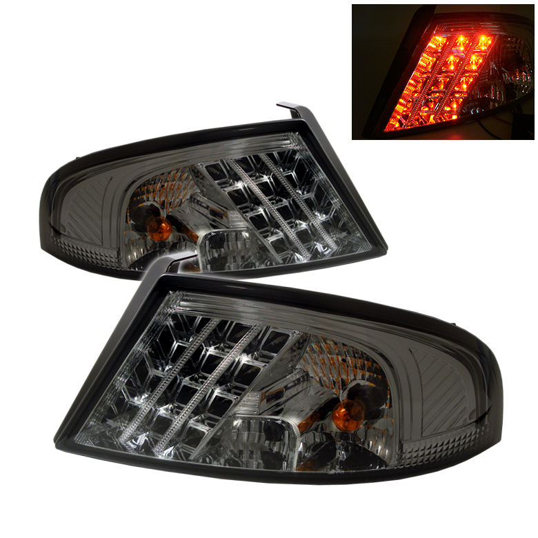 Dodge Stratus 01-06 4Dr LED Tail Lights - Smoke
