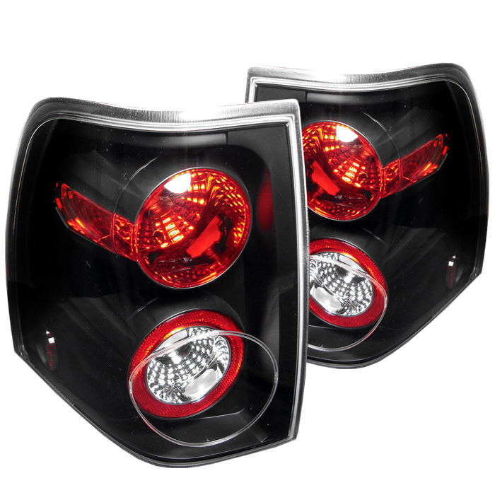 Ford Expedition 03-06 Euro Style Tail Lights - Black