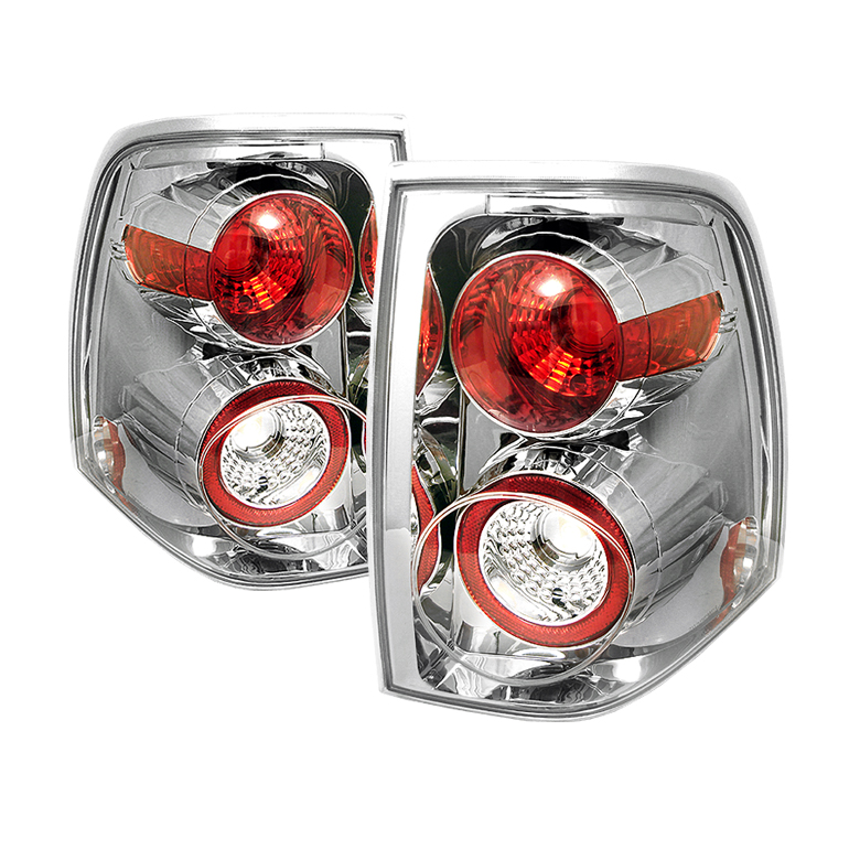 Ford Expedition 03-06 Euro Style Tail Lights - Chrome