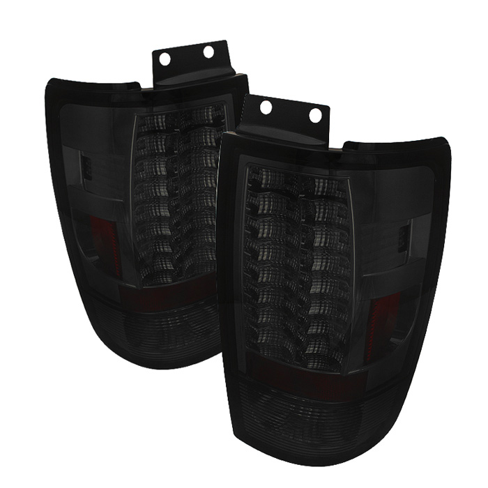 Ford Expedition 97-02 Version 2 LED Tail Lights - Smoke