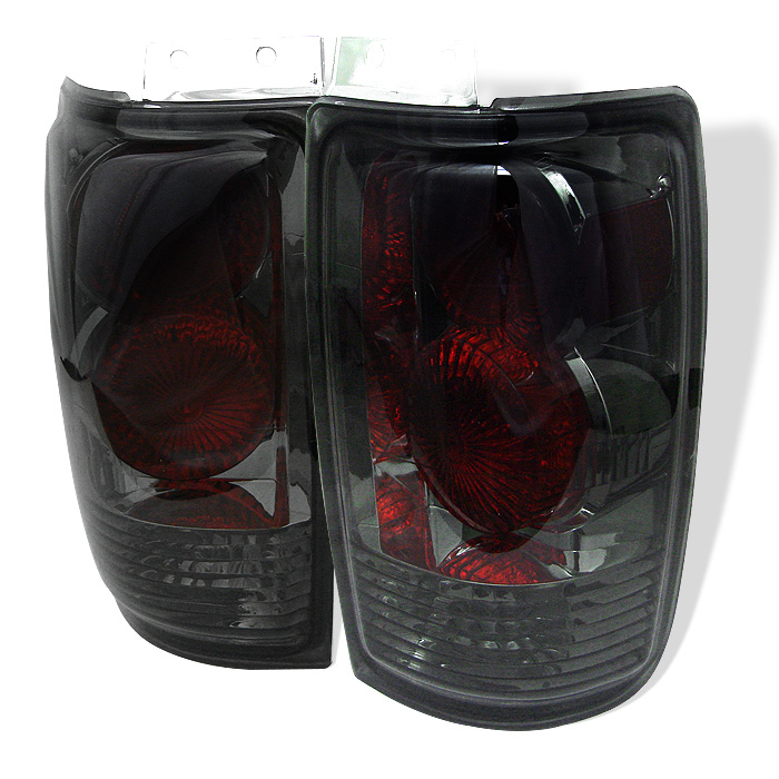 Ford Expedition 97-02 Euro Style Tail Lights - Smoke