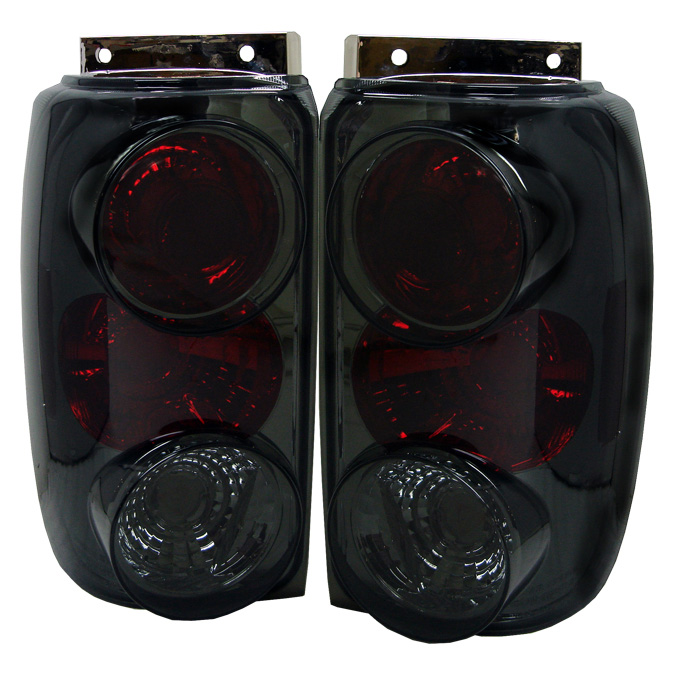 Ford Explorer 95-97 Euro Style Tail Lights - Smoke