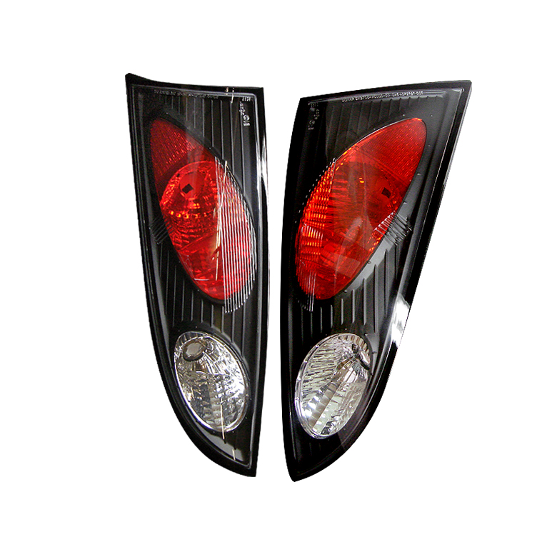 Ford Focus 00-04 3/5Dr Euro Style Tail Lights - Black