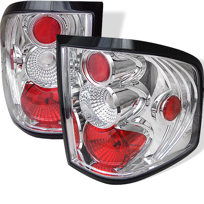 Ford F150 Flareside 04-08 Euro Style Tail Lights - Chrome