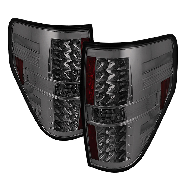 Ford F150 Styleside 09-12 LED Tail Lights - Smoke