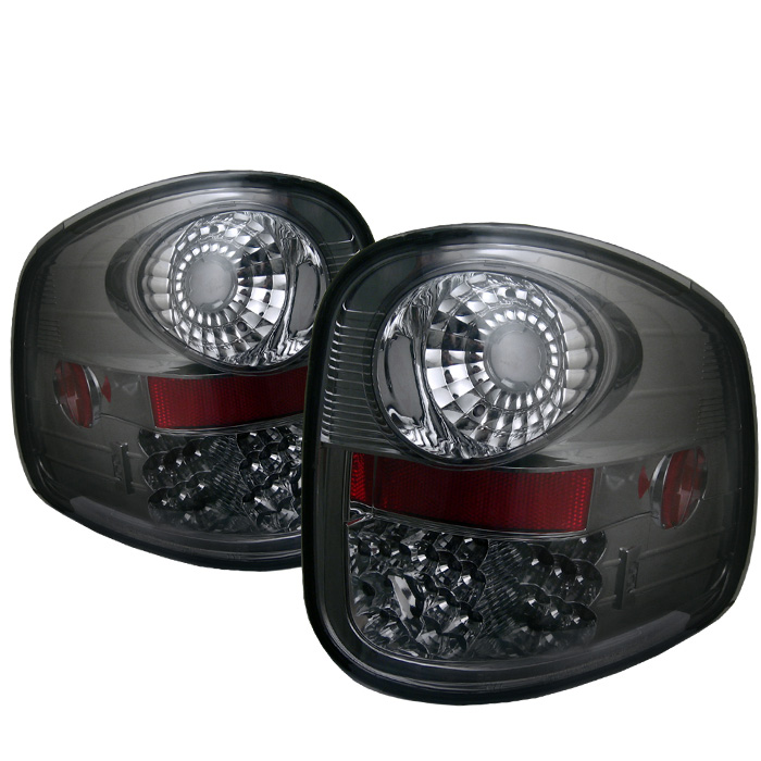 Ford F150 Flareside 97-03 LED Tail Lights - Smoke