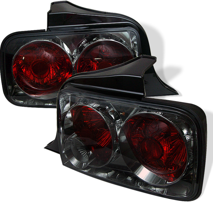 Ford Mustang 05-09 Euro Style Tail Lights - Smoke
