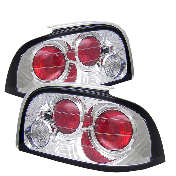 Ford Mustang 94-95 Euro Style Tail Lights - Chrome