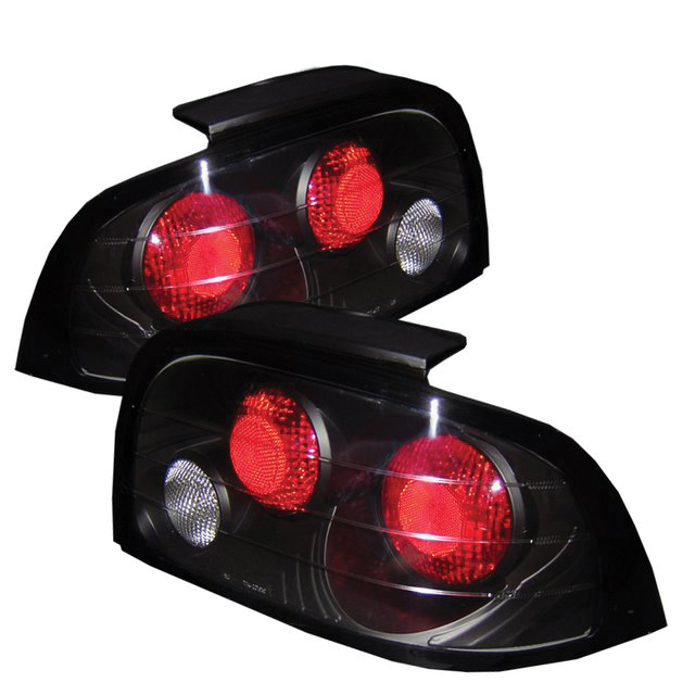 Ford Mustang 96 98 Euro Style Tail Lights Black 165 00