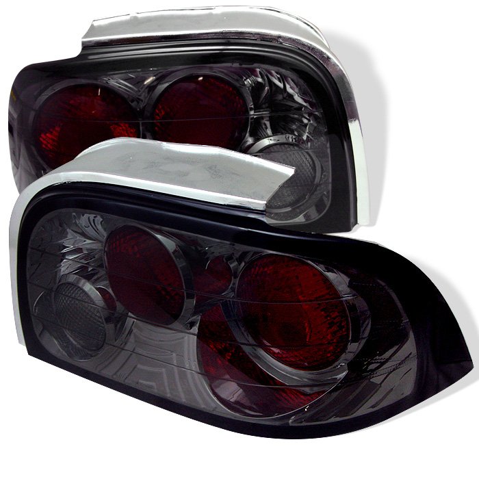 Ford Mustang 96-98 Euro Style Tail Lights - Smoke