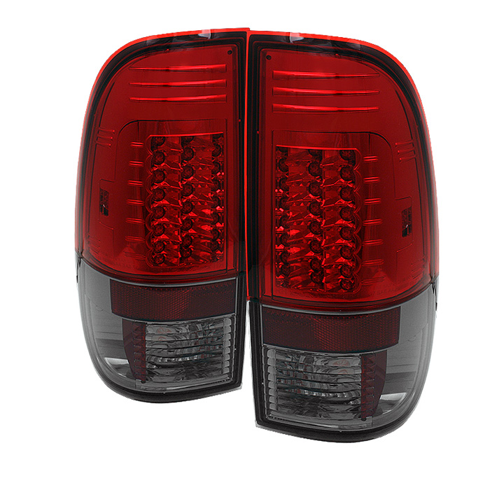 Ford F250/350/450/550 Super Duty 08-13 Version 2 LED Tail Lights