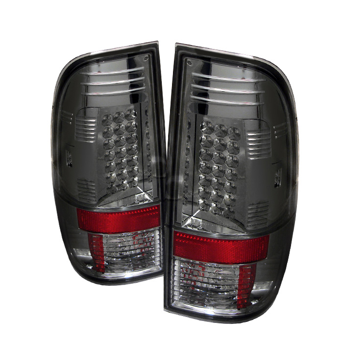 Ford F250/350/450/550 Super Duty 08-13 LED Tail Lights - Smoke