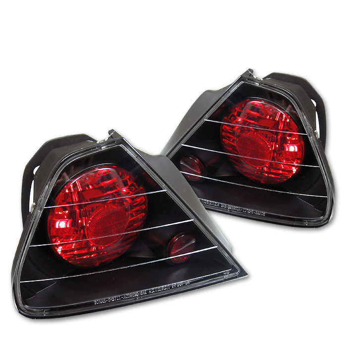 Honda Accord 98-00 2Dr Euro Style Tail Lights - Black