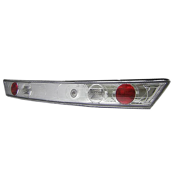 Honda Accord 98-00 2Dr Euro Style Trunk Tail Lights - Chrome