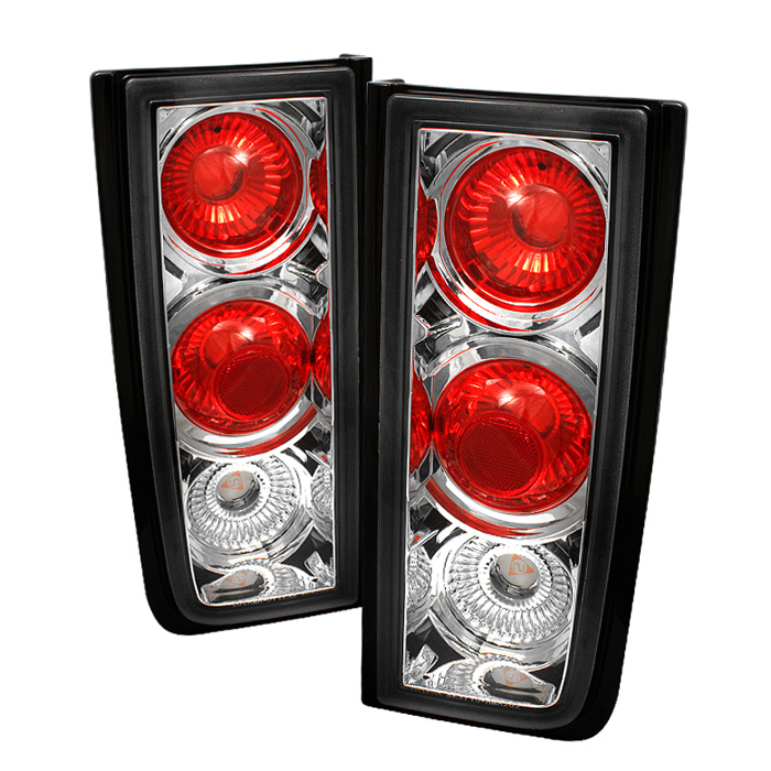 Hummer H2 01-05 ( Non H2T ) Euro Style Tail Lights - Chrome