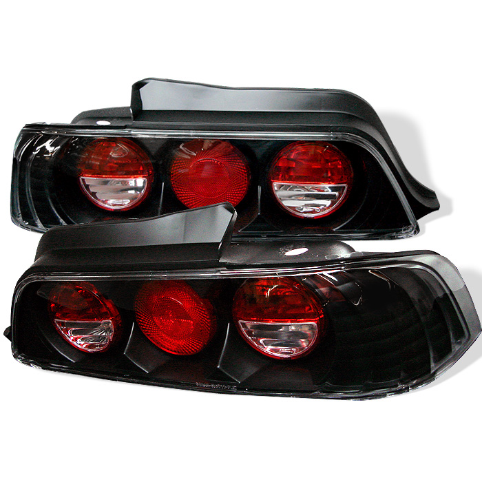 Honda Prelude 97-01 Euro Style Tail Lights - Black