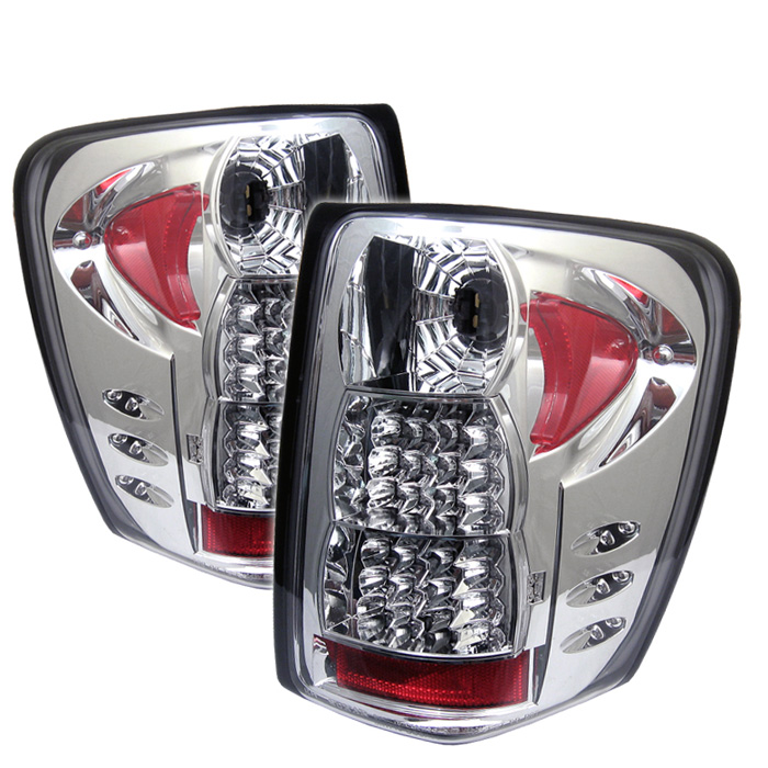 Jeep Grand Cherokee 99-04 ( LED Indicator ) LED Tail Lights - Ch