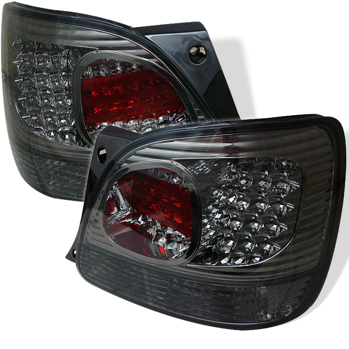 Lexus GS 300 / 400 98-05 LED Tail Lights - Smoke