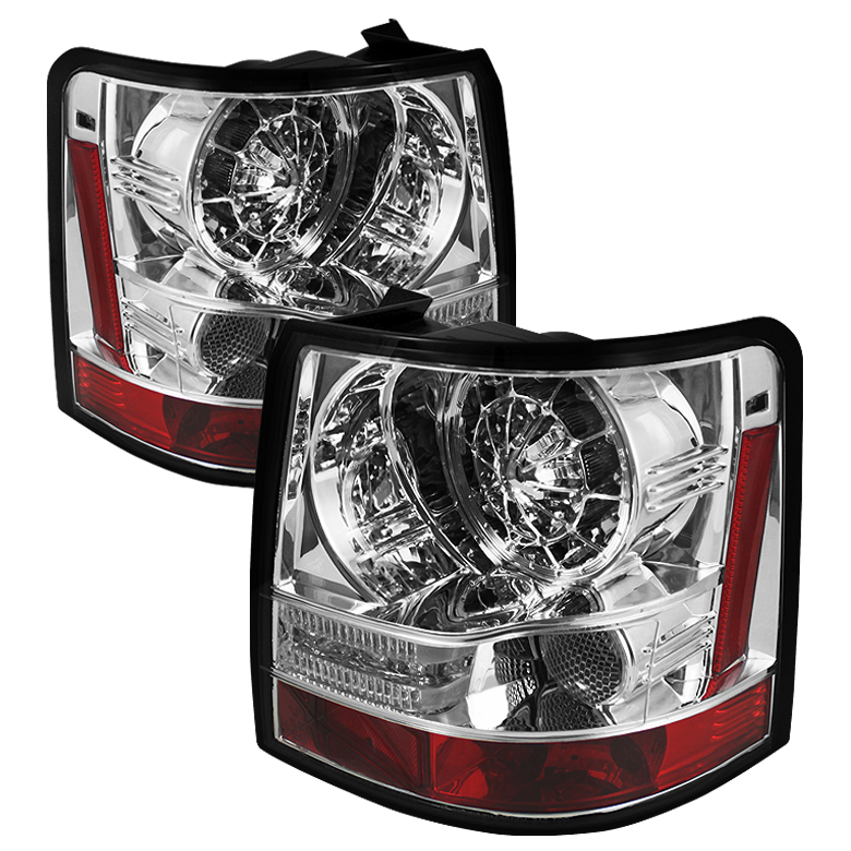 Land Rover Range Rover Sport 06-09 LED Tail Lights - Chrome