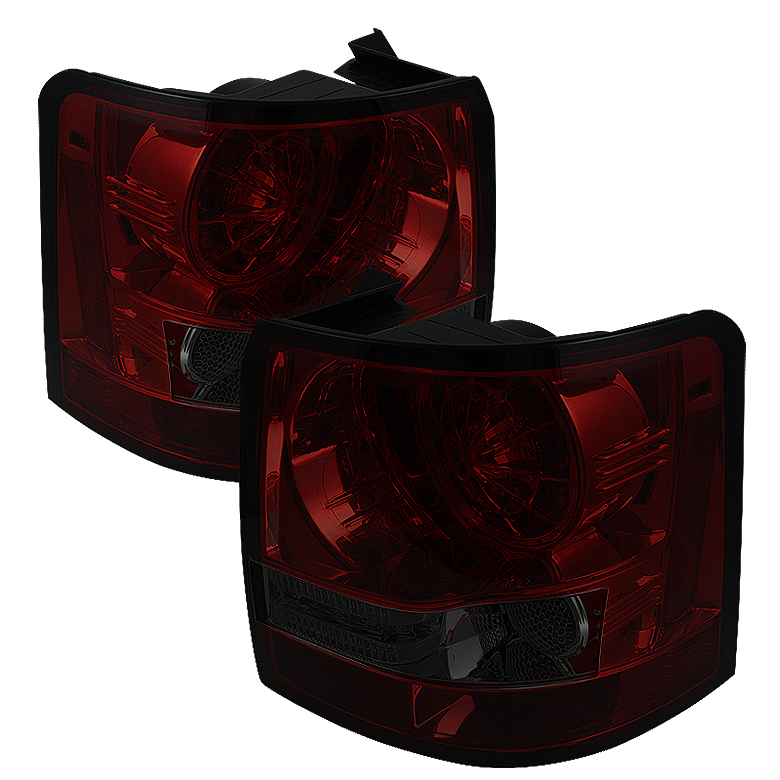 Land Rover Range Rover Sport 06-09 LED Tail Lights - Red Smoke