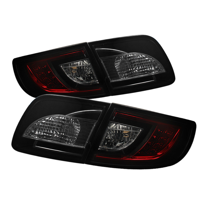 Mazda 3 03-08 4Dr Sedan ( Non Hatchback ) LED Tail Lights - Red