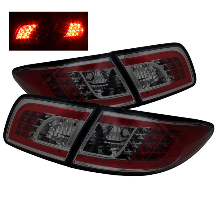 Mazda 6 03-08 4/5DR (Not fit Wagon) LED Tail Lights - Smoke