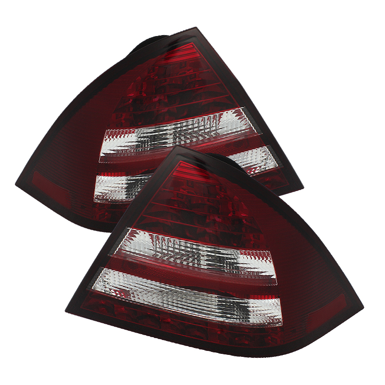 Mercedes Benz W203 C-Class 05-07 4DR Sedan LED Tail Lights - Red
