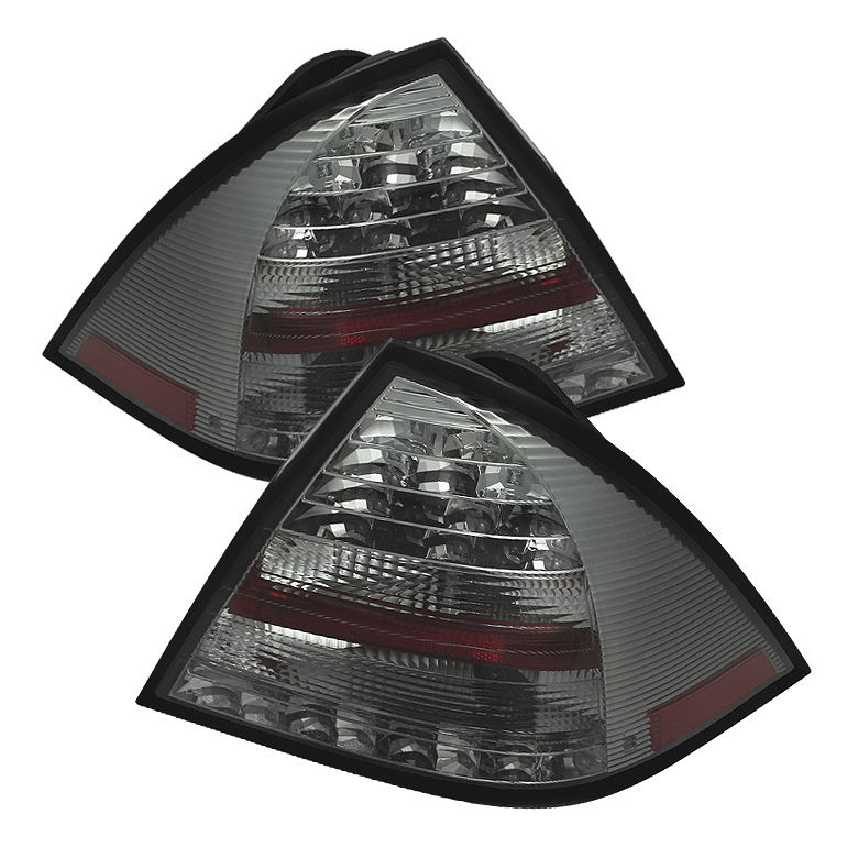 Mercedes Benz W203 C-Class 05-07 4DR Sedan LED Tail Lights - Smo